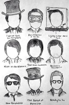 The many faces of Brendon Urie XD <3