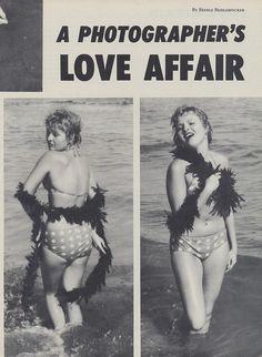 I want to play with kelp in a polka dot bikini.