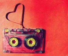 La musique fait des coeurs près de mes oreilles