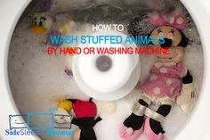 The article will show you how to wash stuffed animals by hand or washing machine helping you protect your children from germs in stuffed animals . Washing Stuffed Animals, Hand Washing Machine, Side Sleeper Pillow, Best Pillow, Love You More, Hands, Cleaning, Childcare