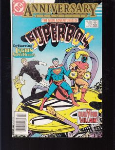 Superboy And The Legion Of Superheros 1st Series Dc #203 1974