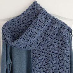 Voor Het Haken Van Deze Sjaal Koos Ik Voor Een Wat Stoerdere Kleur