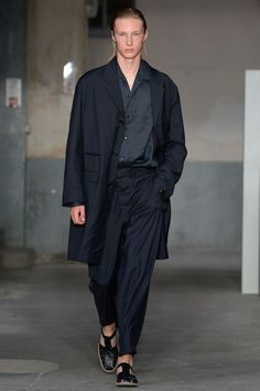 Lemaire Spring 2018 Menswear Fashion Show Collection