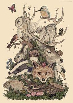 Woodland Folk by Callum Bishop