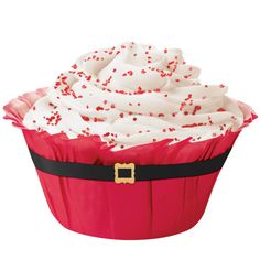 Cupcake : Capacillos No5 en forma de Santa