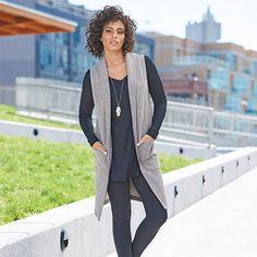 Open-Front Long Knit Vest in Women's   Avon  https://barbieb.avonrepresentative.com
