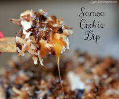Samoa Cookie Dip - Hugs and Cookies XOXO