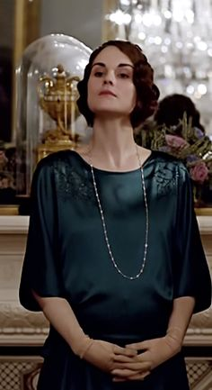 Haughty Lady Mary is not particularly pleased to meet Edith's love interest, who is already married.
