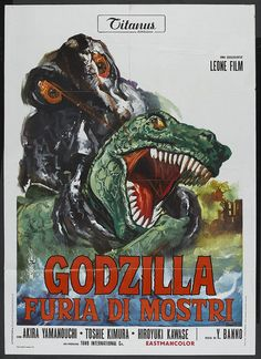 Godzilla vs. the Smog Monster (1972) Italian