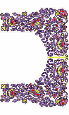 Saree Cording Blouse Embroidery Design