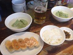 Gyoza lunch in Utsunomiya