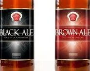 Black and brown ale