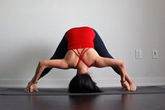 An in-depth article on standing Wide-Legged Forward Bend or Prasarita Padottanasana in yoga, with benefits and instructions on how to do the pose properly.