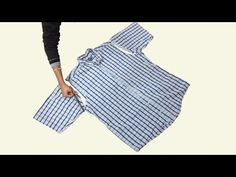 Awesome Idea From Old Shirt // Transformation Idea // By Simple cutting Shirt Transformation, Old Shirts, Sewing Basics, Thrifting, Stitch, Simple, Awesome, Youtube, Tops
