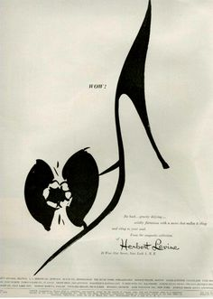 Fashion Shoe illustration  herbert levine1954