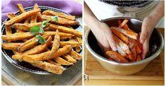 Gesunde und fettarme Pommes frites selbst gemacht!