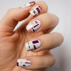11 Fall Nail Art Designs You Need to Try Now Here's a curated list of 11 fall nail art tutorials with the hottest nail color shades for fall! Latest Nail Art, New Nail Art, Cool Nail Art, Beautiful Nail Art, Gorgeous Nails, Pretty Nails, Hot Nails, Hair And Nails, Geometric Nail Art