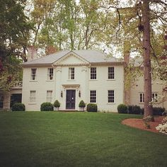 Limestone & Boxwoods - Instagram (@limestoneboxwoods) - A lesser known Shutze-designed house in Buckhead. Recently had an interior renovation by Kay Douglass as seen in Veranda September 2011.