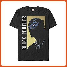 7994106a6405 Marvel Black Panther Fierce Expression Mens Graphic T Shirt - Superheroes  shirts ( Partner-
