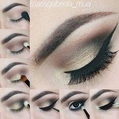 beautiful eye makeup tutorial mariagabriela_mua