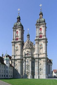 Cathedral St. Gallen, Switzerland  august needs to get here.  can't wait to see this either