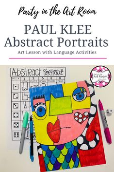 Are you looking for an art lesson for kids that teaches about artist Paul Klee? Do you need a no-prep solution for your substitute folder (sub tub)? Here's an abstract portraits lesson to meet your art class needs!