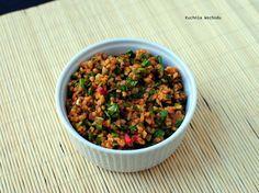 Kisir - turecka sałatka z kaszy bulgur