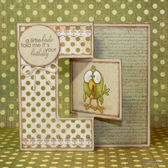 Everyone loves a little bit of pizzazz on special occasions, and these swing cards are just the thing to spice up your gift-giving. They a...