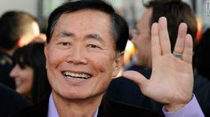 He is just the cutest little old Asian man I have ever seen.  George Takei, please narrate my life!