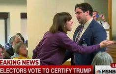 Electoral College Vote: Video Shows Electors Freaking Out and Having Complete Meltdowns After Trump Wins