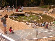 children's rain garden at powhatan springs park, arlington va :: oculus landscape architecture