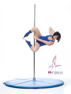 Pole Dance Sport Exercise & Fitness Equipment by RPole. The Professional for portable pole dancing and dance fitness in health clubs or anywhere