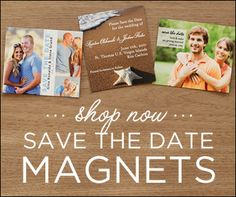 Save the Date Magnets! I think I remember you saying something about this a while back. Wedding Save The Dates, Our Wedding, Dream Wedding, Wedding 2015, Wedding Things, Wedding Ideas, Wedding Wishes, Friend Wedding, Save The Date Invitations