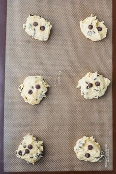 If you like banana bread, you'll love these Banana Chocolate Chip Cookies. They are a great way to use up overripe bananas and have a soft cake-like texture Banana Chocolate Chip Cookies, Overripe Bananas, Feel Good Food, Cookie Exchange, Cookie Desserts, Banana Bread, Chips, Baking, Sweet