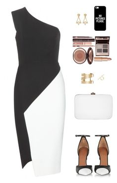 """""""Sin título #3448"""" by iammariadelmarbieber on Polyvore featuring moda, Victoria Beckham, Givenchy, Rocio, Isabel Marant, Lulu Frost, Toga, Charlotte Tilbury y Casetify"""