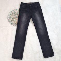 American Eagle Mens Jeans Size 28x30 Black Slim Straight Skinny Extreme Flex  #AmericanEagleOutfitters #SlimStraightSkinny