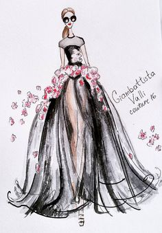 Giambattista Valli Couture 2016 by @ekateri_lukina| Be Inspirational❥|Mz. Manerz: Being well dressed is a beautiful form of confidence, happiness & politeness