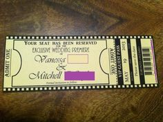 Totally what I actually did for my sweet 16 invites!!    Found on Weddingbee.com Share your inspiration today!
