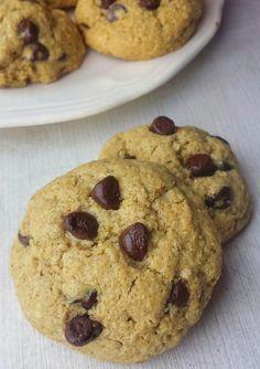 cookies aux flocon d'avoine sans farine Gluten Free Cookies, Healthy Cookies, Dessert Healthy, Healthy Food, Healthy Life, Biscuit Cookies, Cake Cookies, Cas, Desserts With Biscuits
