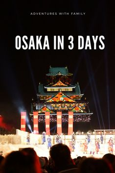 There are a number of fun things to do in Osaka in 3 days, like visiting the lively Dotonbori area, the Osaka aquarium and Universal Studios Japan. Slow Travel, Asia Travel, Osaka Japan Things To Do, International Travel Checklist, Universal Studios Japan, Top Travel Destinations, Travel With Kids, Travel Inspiration, Stuff To Do