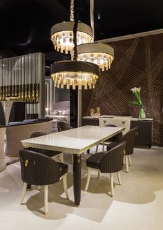 Vogue Collection www.turri.it Luxury dining room furniture