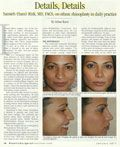 Dr. Rizk is featured on Plastic Surgery Practice Journal about his customized ethnic rhinoplasty techniques.