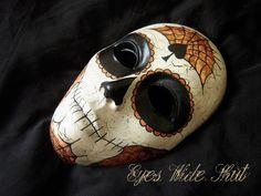 Mask 'Ace of Spades' gothic Santa Muerte by EyesWideShutFactory