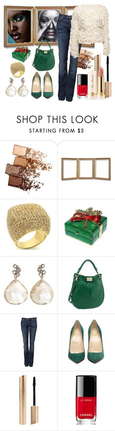 """Segura"" by kathyos ❤ liked on Polyvore featuring Maybelline, Fantasy Jewelry Box, Swarovski, Federica Rettore, Marc by Marc Jacobs, PRPS, Too Faced Cosmetics, Chanel and Frank Tell"