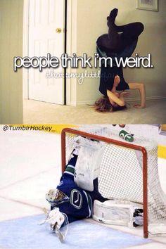 Poor Luongo #Canucks #Hockey #Humor