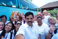 Selfie with the Kerala Tourism tourism Minister Shri. A. P. Anilkumar