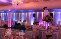 Wedding Monogram and Uplighting at Victoria Park Golf Club | G&M DJs | Magnifique Wedding Lighting #gmdjs #magnifiqueweddings #amazingvicpark #brisbanewedding @vicparkbrisbane  @gmdjs