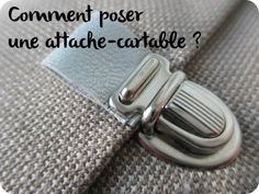 La Mercerie du Faubourg aime Tuto : comment poser une attache-cartable ? By *Tadaam !