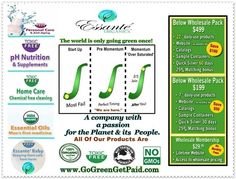 Ideal Candidate - Extra Income - by promoting chemical-free products
