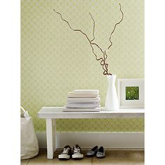 Buy Sanderson Fretwork Paste the Wall Wallpaper Online at johnlewis.com